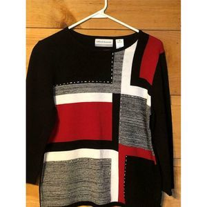 Alfred Dunner Petite Large Women Sweater